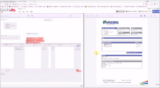 Create invoice template from scratch (without using a pre-designed background) demo