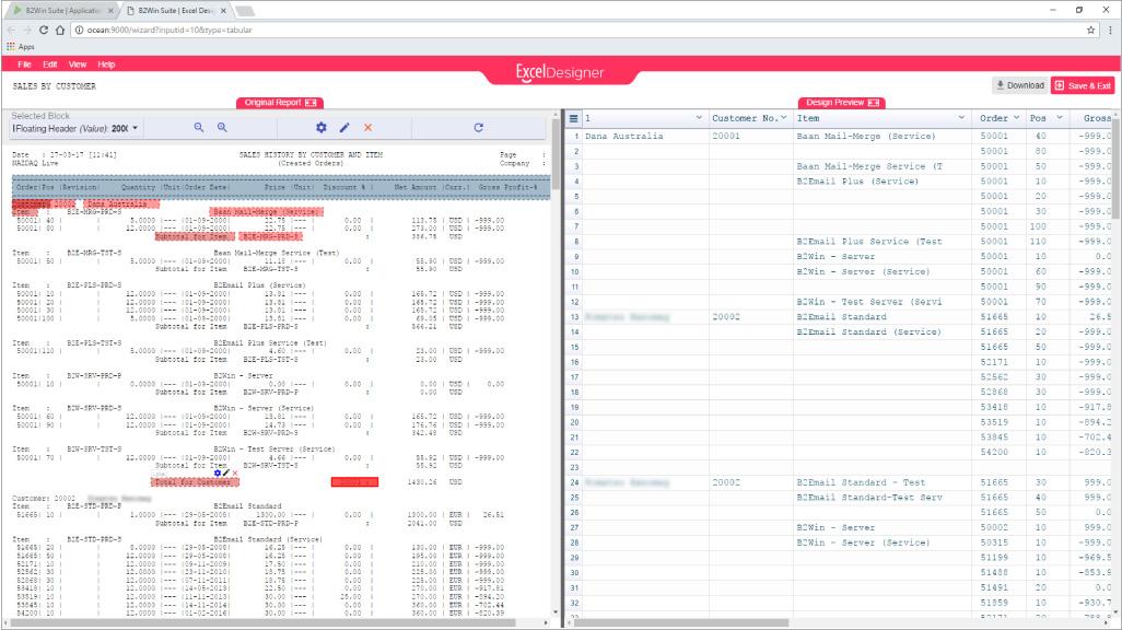 B2Design - Excel Designer - Overview