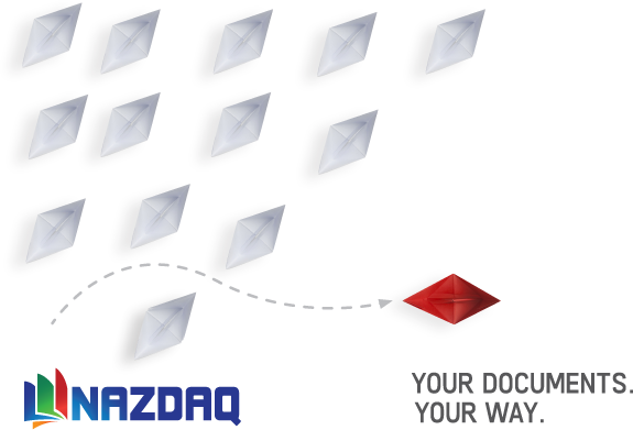 NAZDAQ illustration - Your Documents Your Way