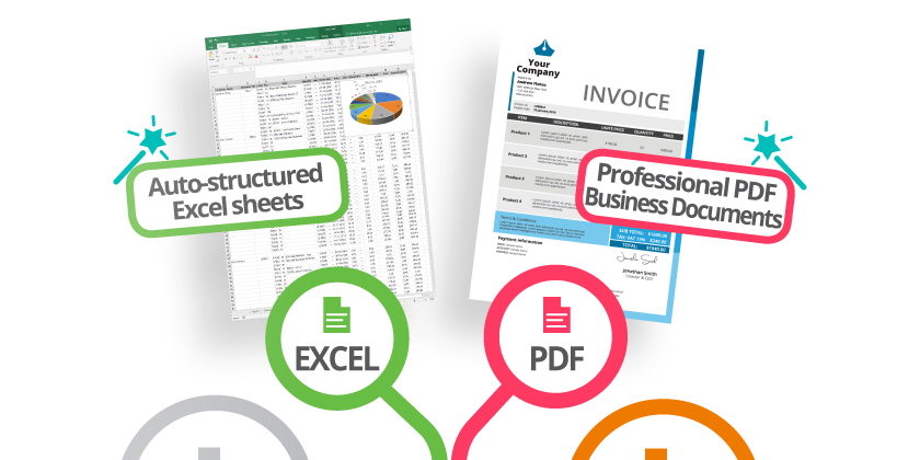 B2Design | Create Professional PDF and Excel Documents