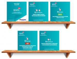 Shelves for NAZDAQ Brochures